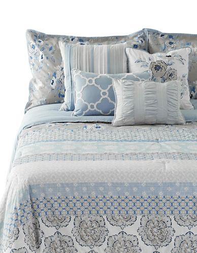 Home Studio Willa Seven-Piece Comforter Set-BEIGE-Queen