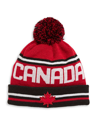 Canadian Olympic Team Collection Adult Family Tuque-RED-One Size