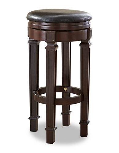 Beringer Billiard Swivel Barstool-ESPRESSO-One Size