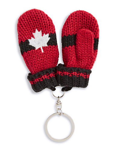 Canadian Olympic Team Collection Mitten Keychain-RED-One Size