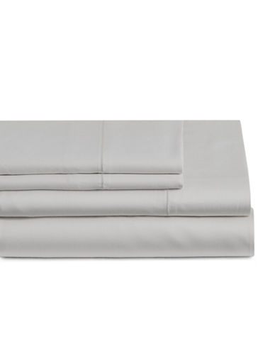 Glucksteinhome Four-Piece Cotton Blend Sheet Set-OYSTER MUSHROOM-Double