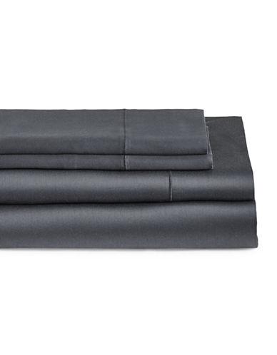 Glucksteinhome Four-Piece Cotton Blend Sheet Set-TURBULANCE-Double