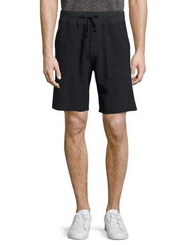 Save Khaki Supima Fleece Sweat Shorts-GREY-Medium