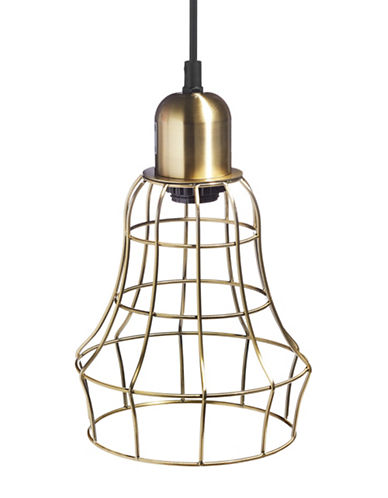 Distinctly Home Cage Pendant Light-BRASS-One Size