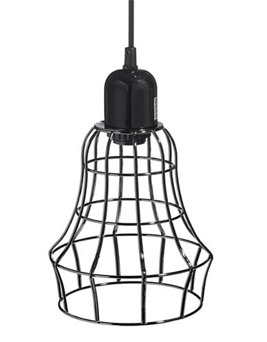 Distinctly Home Cage Pendant Light-BLACK-One Size
