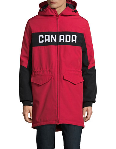 Canadian Olympic Team Collection Mens Opening Ceremony Parka-RED-Medium