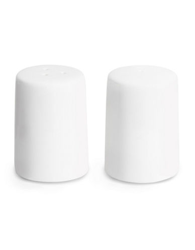 Glucksteinhome A La Carte Salt and Pepper Shakers-WHITE-One Size
