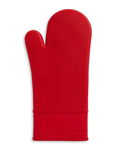 Distinctly Home Silicone Oven Mitt-RED-One Size