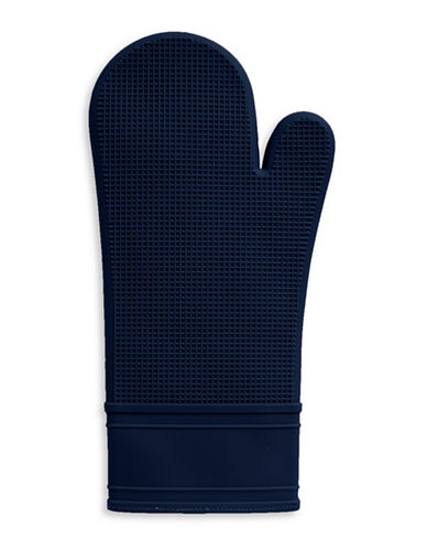 Distinctly Home Silicone Oven Mitt-BLACK-One Size