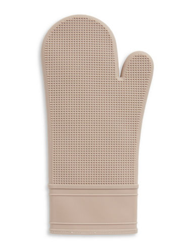 Distinctly Home Silicone Oven Mitt-TAUPE-One Size
