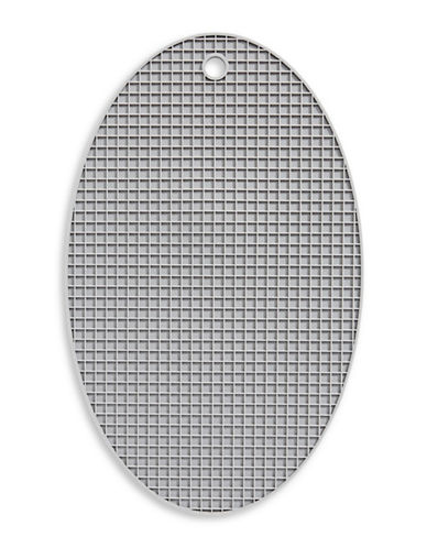 Distinctly Home Silicone Oval Trivet-GREY-One Size