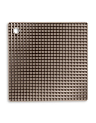 Distinctly Home Heat-Resistant Silicone Square Trivet-TAUPE-One Size
