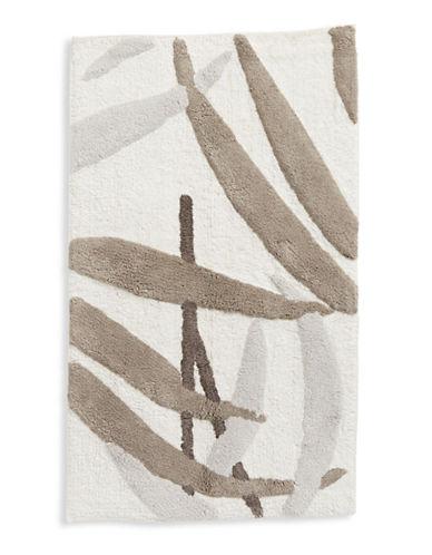 Distinctly Home Tropical Leaf Bath Rug-BEIGE-21x34