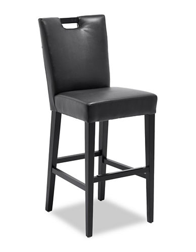 Distinctly Home Henley Bar Stool-BLACK-One Size