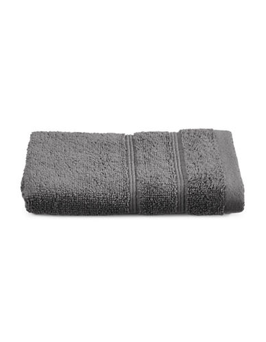 Distinctly Home Turkish Cotton Wash Cloth-GREY-Washcloth