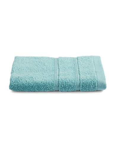 Distinctly Home Turkish Cotton Wash Cloth-AQUA-Washcloth
