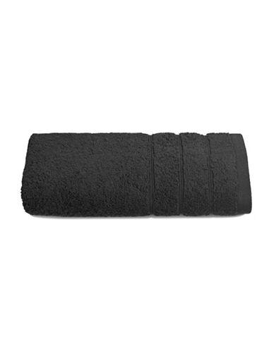 Distinctly Home Turkish Cotton Hand Towel-BLACK-Hand Towel