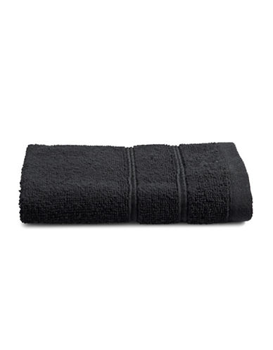Distinctly Home Turkish Cotton Wash Cloth-BLACK-Washcloth