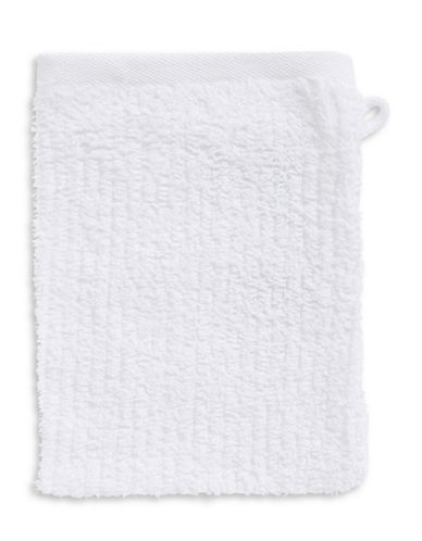 Essential Needs Washcloth Mitt-WHITE-Finger Tip Towel