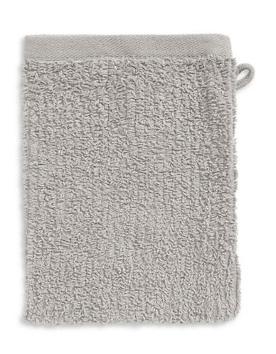 Essential Needs Washcloth Mitt-QUIET GREY-Finger Tip Towel