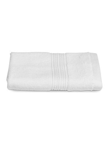 Home Studio Spectrum Cotton Wash Cloth-WHITE-Washcloth