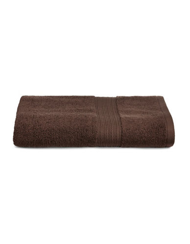 Home Studio Ribbed Border Cotton Bath Towel-BRACKEN-Bath Towel
