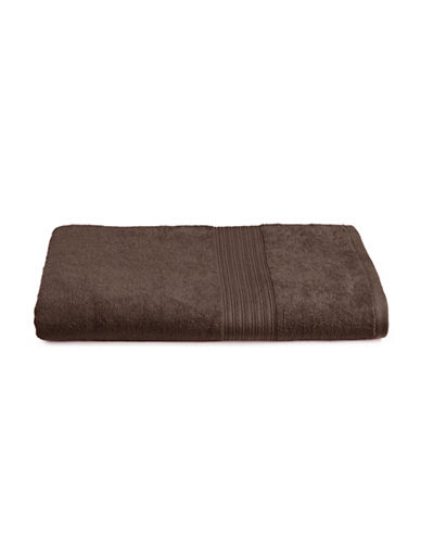 Home Studio Ribbed Border Cotton Bath Sheet-BRACKEN-Bath Sheet