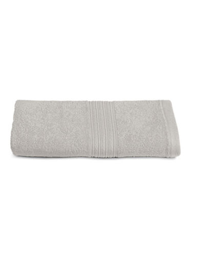 Home Studio Ribbed Cotton Hand Towel-QUIET GREY-Hand Towel