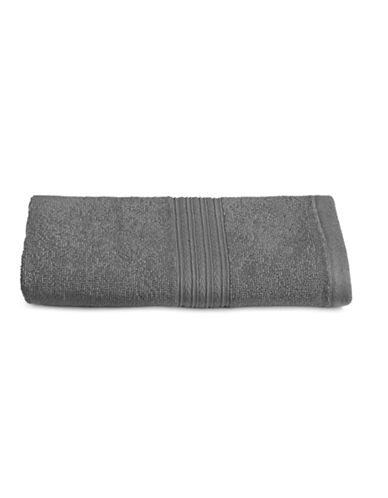 Home Studio Ribbed Cotton Hand Towel-FORGED IRON-Hand Towel