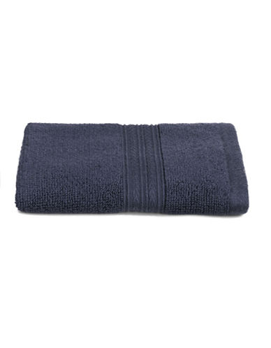 Home Studio Spectrum Cotton Wash Cloth-DRESS BLUE-Washcloth