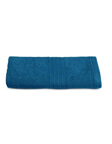 Home Studio Ribbed Cotton Hand Towel-DEEP WATER-Hand Towel