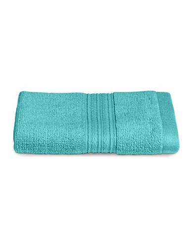 Home Studio Spectrum Cotton Wash Cloth-PEACOCK BLUE-Washcloth
