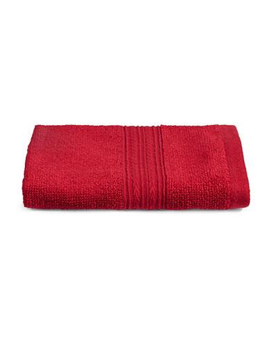Home Studio Spectrum Cotton Wash Cloth-RED-Washcloth