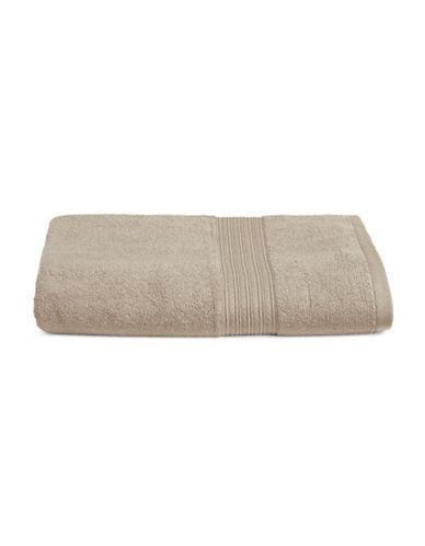 Home Studio Ribbed Border Cotton Bath Towel-STRING-Bath Towel