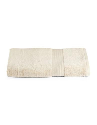 Home Studio Ribbed Border Cotton Bath Sheet-STRING-Bath Sheet