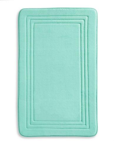 Dh Memory Foam Bath Mat-ARUBA BLUE-21x34