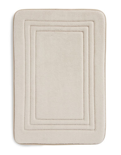 Dh Memory Foam Bath Mat-CHATEAU GREY-17x24