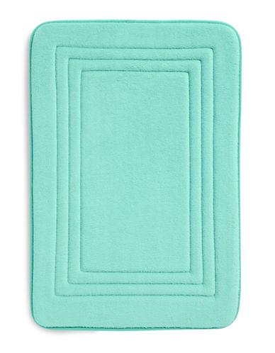 Dh Memory Foam Bath Mat-ARUBA BLUE-17x24