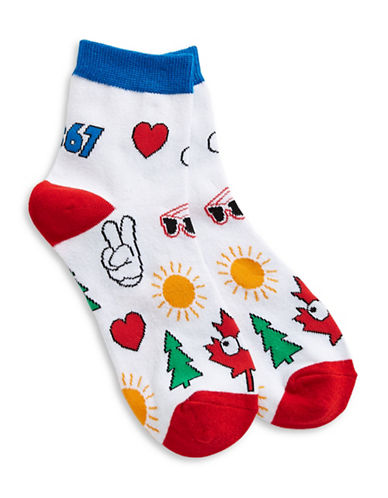 Canadian Paralympic Team Collection Graphic Print Socks-MULTI-One Size