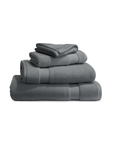 Glucksteinhome Hydraspa Bamboo Cotton Combo Bath Towel-CHARCOAL-Bath Towel
