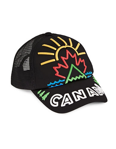 Canadian Paralympic Team Collection Unisex Trucker Hat-BLACK MULTI-One Size