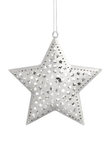 Glucksteinhome Noel Blanc Silver Star Ornament-SILVER-One Size