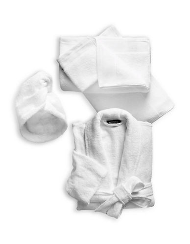 Glucksteinhome Five-Piece Spa Bundle Set-WHITE-Small/Medium