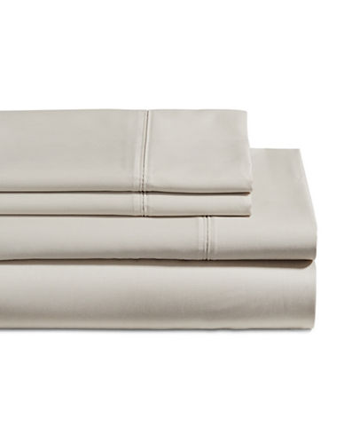 Glucksteinhome Four-Piece 650 Thread Count Wrinkle Resistant Ultra Fine Cotton Sheet Set-BLUSH-Double
