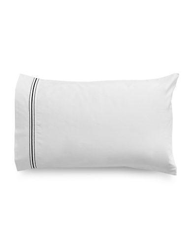 Glucksteinhome Essex Two-Piece Pillowcase Set-NAVY-King