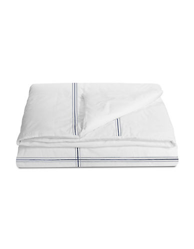 Glucksteinhome Essex Duvet Cover-NAVY-Queen