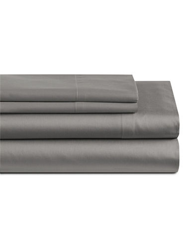 Home Studio Four-Piece 550 Thread Count Sheet Set-CHARCOAL-Queen