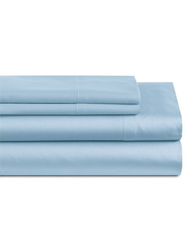 Home Studio Four-Piece 550 Thread Count Sheet Set-BLUE-Queen