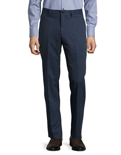 Haight And Ashbury Geo Dot Dress Pants-BLUE-34
