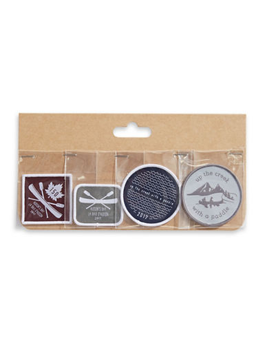 Grand Portage Adventurer Set of 4 Patches-ASSORTED-One Size